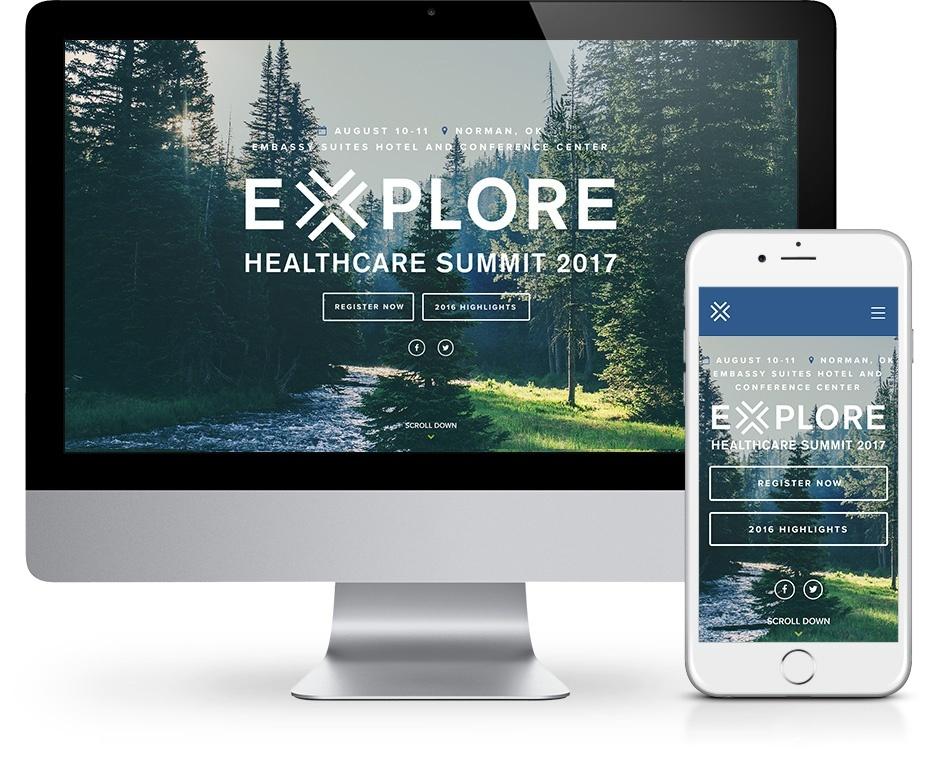 Explore 2017 Website