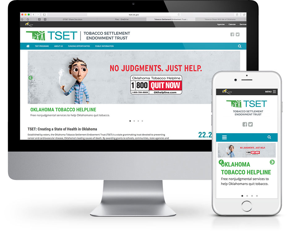 TSET Website Design