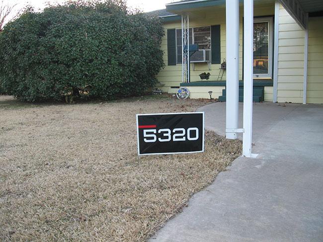 Lawn Signage