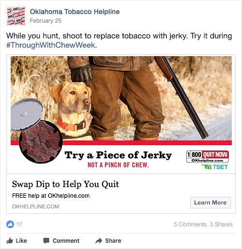 try a piece of jerky