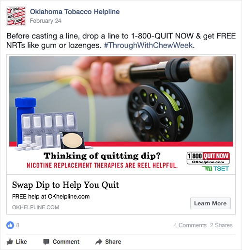 thinking of quitting dip?