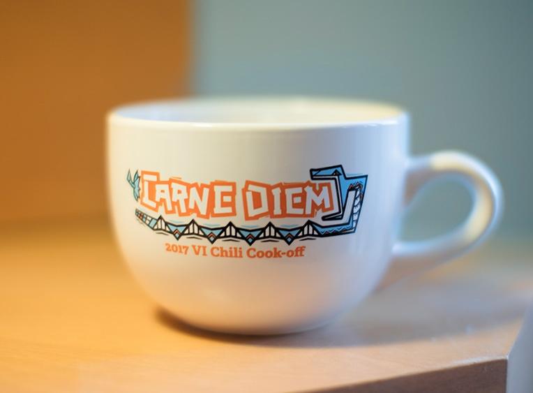 Our work: Carne Diem mug