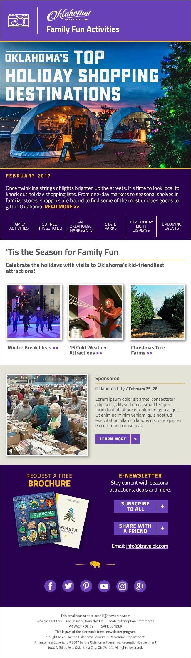 Family Fun Newsletter