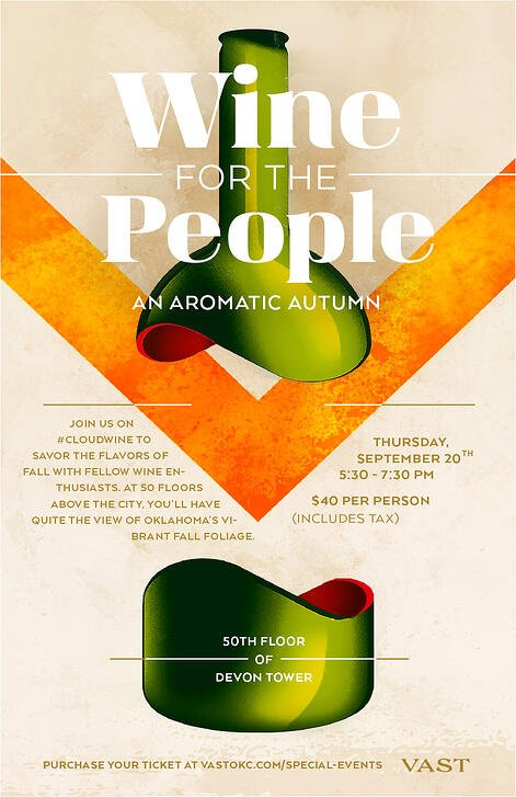Wine for the People - An Aromatic Autumn Poster