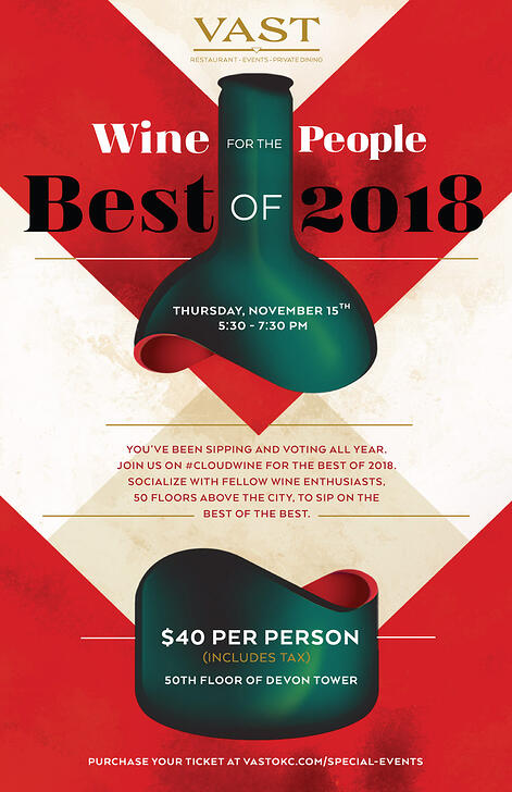 Wine for the People - Best of 2018 Poster