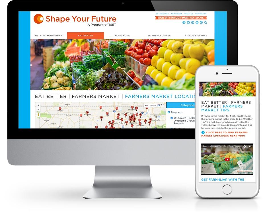 Farmers Market Website