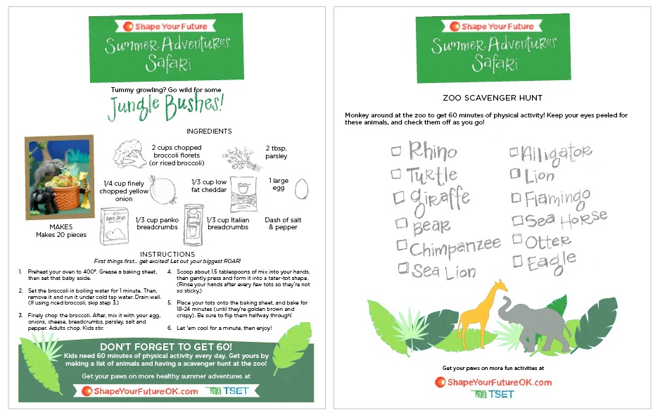 Jungle Activity Sheet