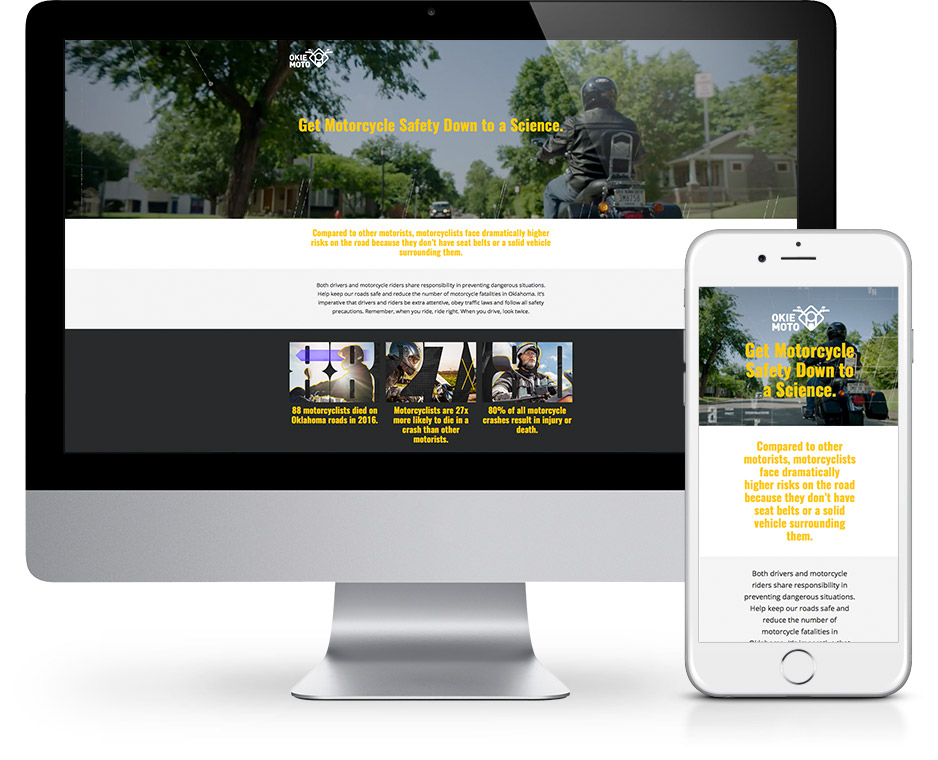 OHSO Landing Page Site