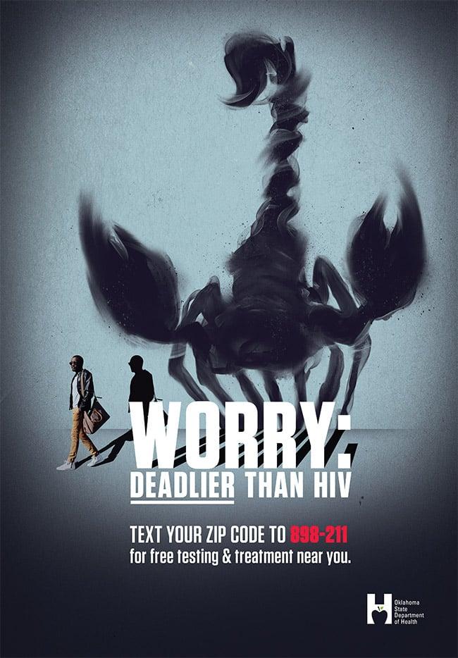 Worry: Deadlier than HIV