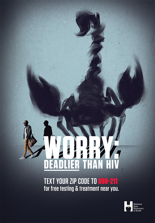Worry: Deadlier than HIV