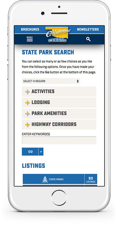 TravelOK Website Mobile 1