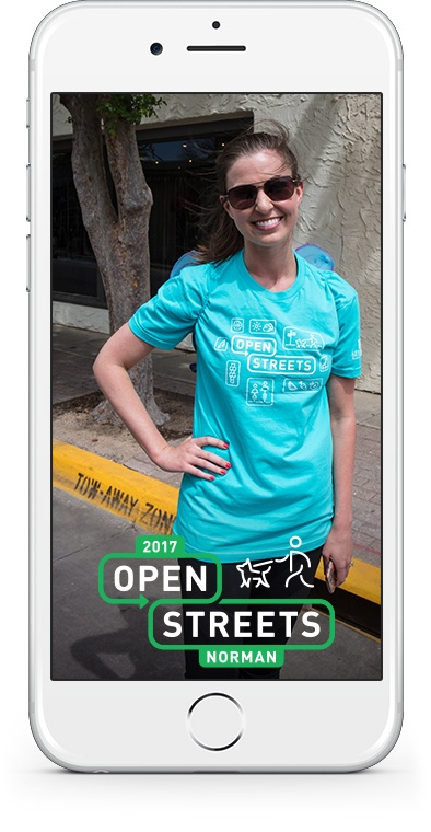 2017 Open Streets Norman SnapChat 2