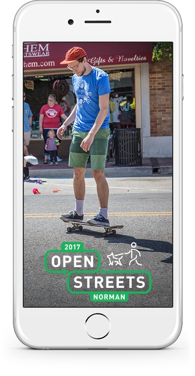 2017 Open Streets Norman SnapChat 1