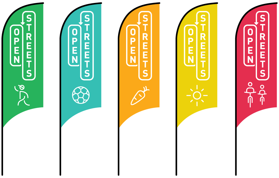 2017 Open Streets Norman Banners