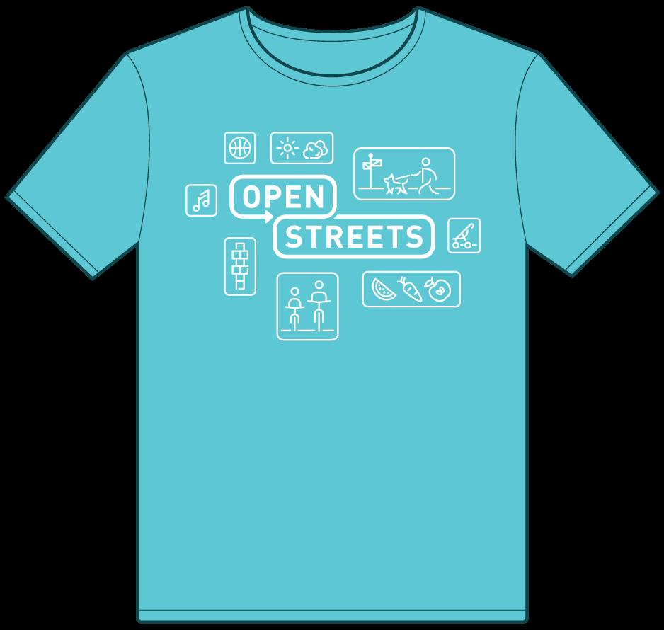 2017 Norman Open Streets 2017 T-shirt Design